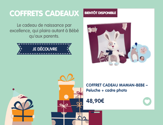 coffret cadeau little band